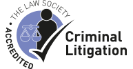 Law Society Accredited Criminal Litigation logo